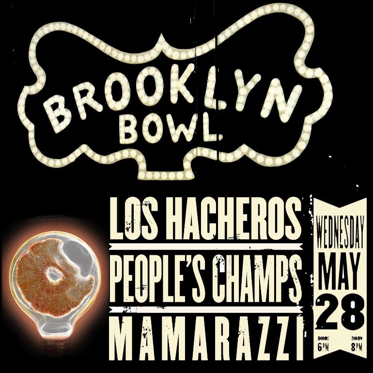 Brooklyn Bowl 5-28-14